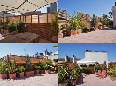 refection et aménagement totale de la terrasse